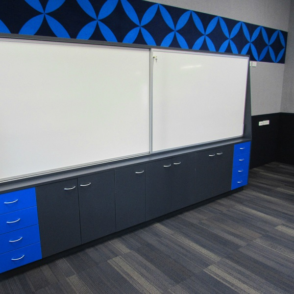 ClassWall Cabinet Slider Unit Hasting Girls High School
